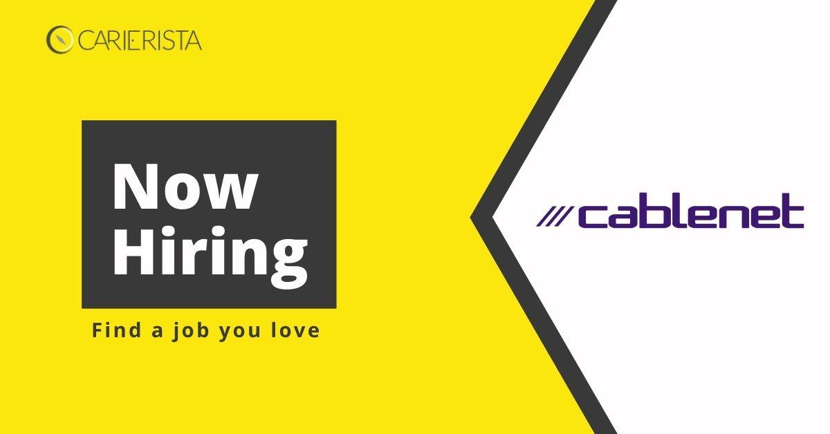 Θέσεις εργασίας στη Cablenet
