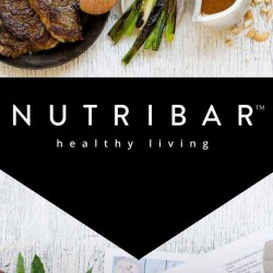 NUTRIBAR HEALTHY LIVING logo